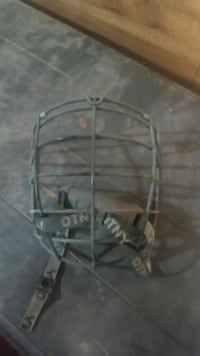 One lacrosse face cage 3139 km