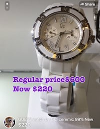 GC watch from guess 99% New Vancouver, V5R 5E3