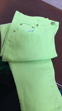 green and white polo shirt Alexandria, 22307