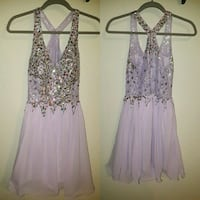 women's purple sleeveless dress collage Chapman, 67431