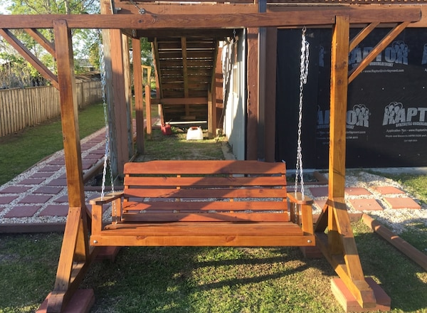 5 Patio Swing With Frame