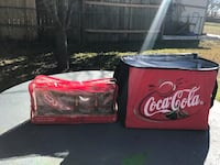 Coca Cola Themal Bag with Glass Set (still in packaging) 1303 mi