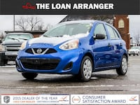 2015 nissan micra with 76774km and 100% approved financing