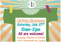 free clothes Lynwood, 60411