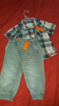 BNWT  baby boy's summer outfit 12 mnths