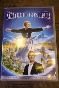 DVD sound of music (in FR, ENG and DE) Barcelona, 08013