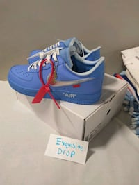 Off White Air Force 1 MCA Blue size 10