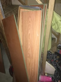 Beige laminate floor Board plank lot Pickering, L1W 3A8