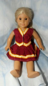 brown haired female doll in red dress Walkersville, 21793