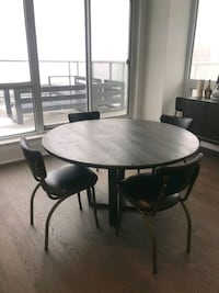 NEW! Crate & Barrel Dining set + Chairs.