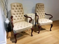 Leather Accent Chairs Ajax, L1Z 1J4