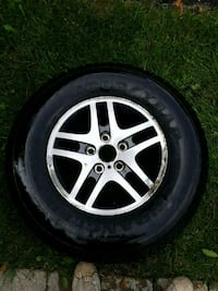 5 star wheel with tire set of 4  Whitchurch-Stouffville, L4A 0L9