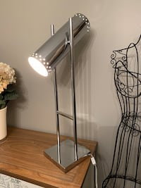 Modern Chrome desk or table lamp