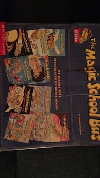 New Magic School Bus boxed set of 10 books 59 km