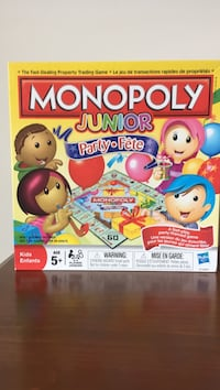 Monopoly Junior board game Oakville