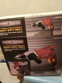 chicago electric heavy duty drill