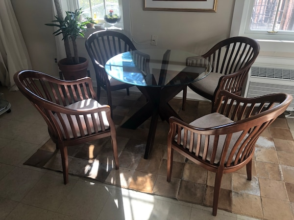 Solid wood dinner/living room/office chairs