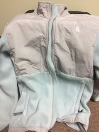 Light blue North Face Fleece Jacket girls size XL Trussville, 35173