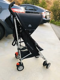 Maclaren black triumph elite stroller -charcoal Simi Valley, 93063