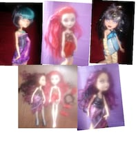 4 beautiful Ever After Monster High Dolls Ontario, 91764