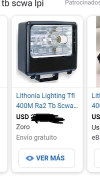 Floodlights 400 watts tb have 8 in the box new