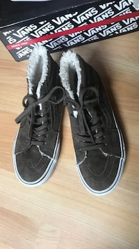 Vans Shoes Brown Suede Mysen, 1850
