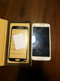 white Samsung Galaxy Android smartphone with box 2201 mi