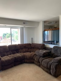 MOVING SALE!! 5pc living room sectional  Alexandria, 22306