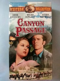 Canyon Passage vhs