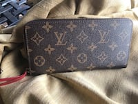monogrammed black and brown Louis Vuitton leather wallet Reston, 20191