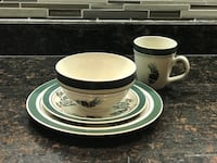 "Original ll bean ""evergreen"" dish set Alexandria, 22312"