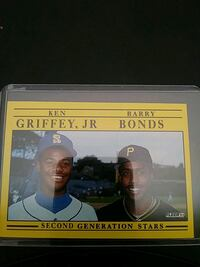 1991 Fleer. Ken Griffey Jr. & Barry Bonds Baseball Millersville, 21108