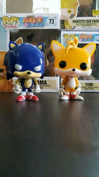 Sonic and Tails Funko POP! OOB Surrey, V3S 9E1