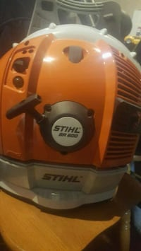 Next to new Stihl BR 600 backpack blower  Edmonton, T5R 2H4
