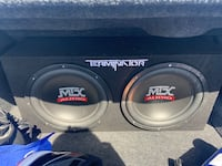 MTX Subwoofer and Rockford Fosgate Amp Manassas, 20109