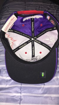 black, white, and purple fitted cap Martensville, S0K 2T0