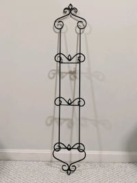 Home decor: Rod iron Plate Display Holder Sterling, 20166