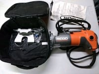 black and red corded power tool St. Catharines, L2N 2C1