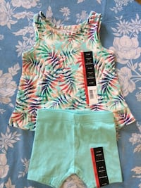 turquoise hawaiian set 6-12 months Scarborough, Toronto, ON, Canada