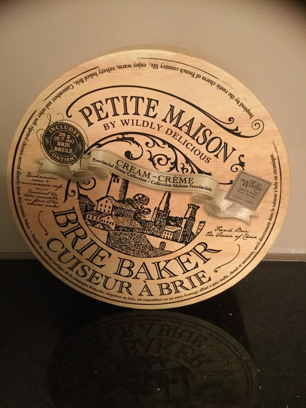 Petite Maison Cream Brie Baker By Wildly Delicious French New e0dad6ff-aff1-4f24-acb0-1f49d05bd077