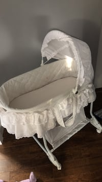 baby's white bassinet Calgary, T2A 2A2