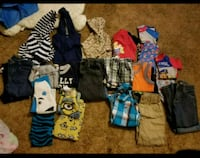toddler's assorted-color clothes lot Sumter