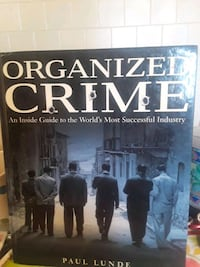Organized Crime book by Paul Lunde.   Chicago, 60656