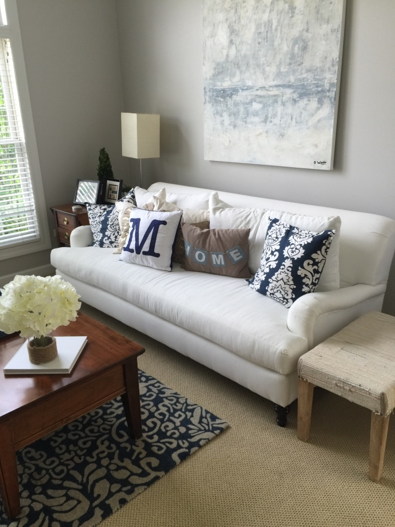 Amazing Pottery Barn Carlisle Grand Sofa (mint) In Naperville   Letgo
