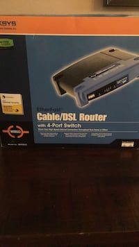 Linksys Cable/DSL Router (New) Mount Vernon, 10550