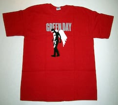GREEN DAY JIMMY ANGEL T-SHIRT FROM 2004, PUNK ROCK