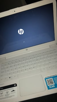 white and gray HP laptop Hyattsville, 20783