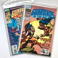 2x Guardians of The Galaxy Comics Toronto