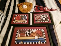 Sports decorations