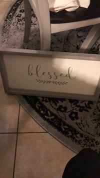 Rustic blessed sign new with tags Roseville, 95747